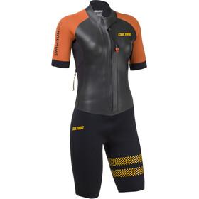 Colting Wetsuits Swimrun Go Wetsuit Women black/orange